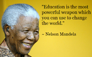 Image of Quote of the Day (Nelson Mandela)