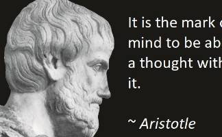 Image of Quote of the Day (Aristotle)